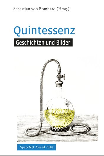SpaceNet Award Buch Cover Quintessenz